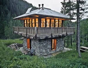 This is more my style - nice and solid. src:http://boingboing.net/2012/04/16/tiny-homes-by-lloyd-kahn-e.html