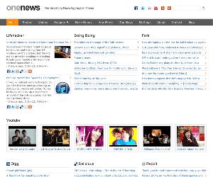 onenews-news-aggregator-theme