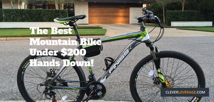 This is the best mountain bike for under $200 I found anywhere online!