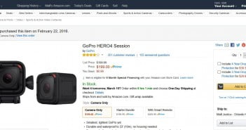 my-gopro-hero-4-session-purchase-date-on-amazon