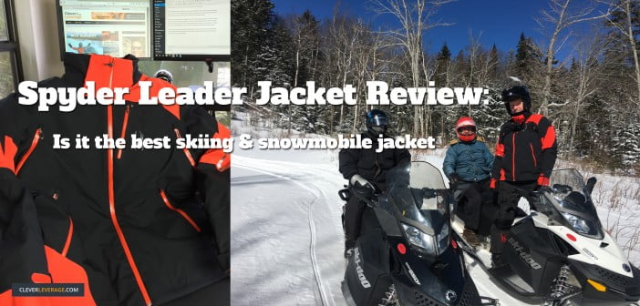 Spyder Leader Jacket Review: Is It The Best Jacket For Skiing & Snomobiling