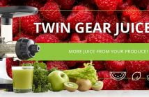 best masticating juicer omega twin gear