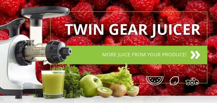 best masticating juicer omega twin gear
