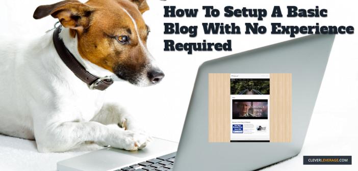 Setup A Basic WordPress Blog