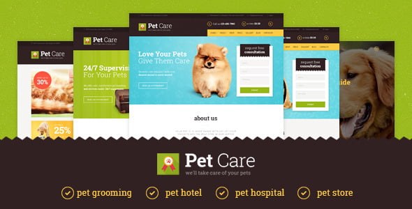 pet-care-theme