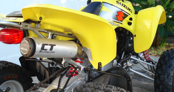 CT Racing Suzuki LTZ 400 Exhaust System (full pipe)