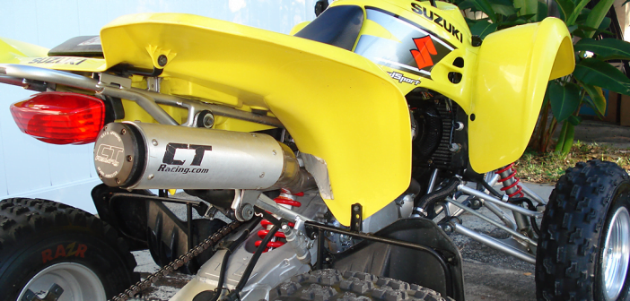 CT Racing Suzuki LTZ 400 Exhaust System (full pipe)