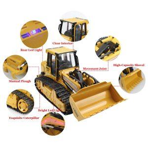 Caterpillar Replica Bulldozer Rc Equipment