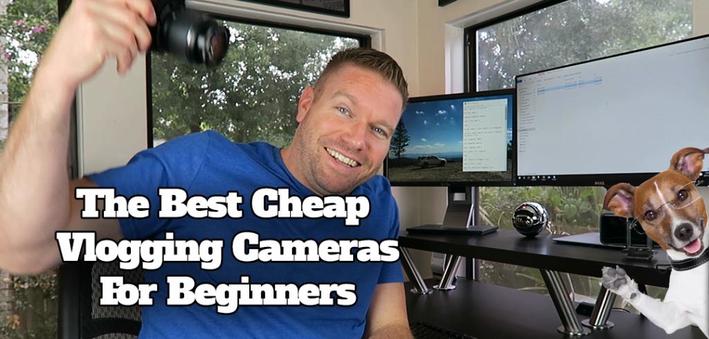 Matt testing the best vlogging cameras for youtube vids