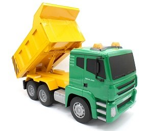 Remote Controlled Dump Truck With The Coolest Remote Ever!