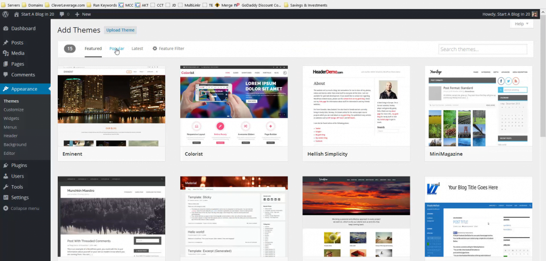 change-wordpress-theme