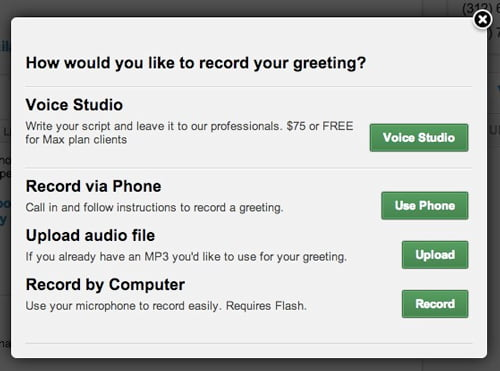 Record A Custom Voicemail For Your Toll Free Line