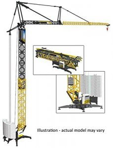 leibherr-tower-crane-model