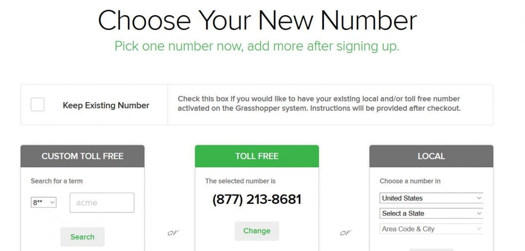 Register Your New Toll Free NUmber Or Keep Your Existing Line