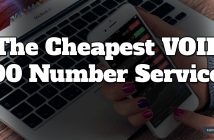 Cheapest 800 Number Service