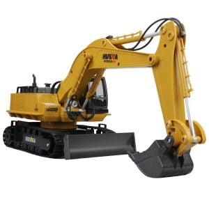 Hugine Metal Alloy Remote Control Excavator Under $100 Dollars