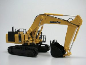 Komatsu Hydraulic RC Toy Excavator