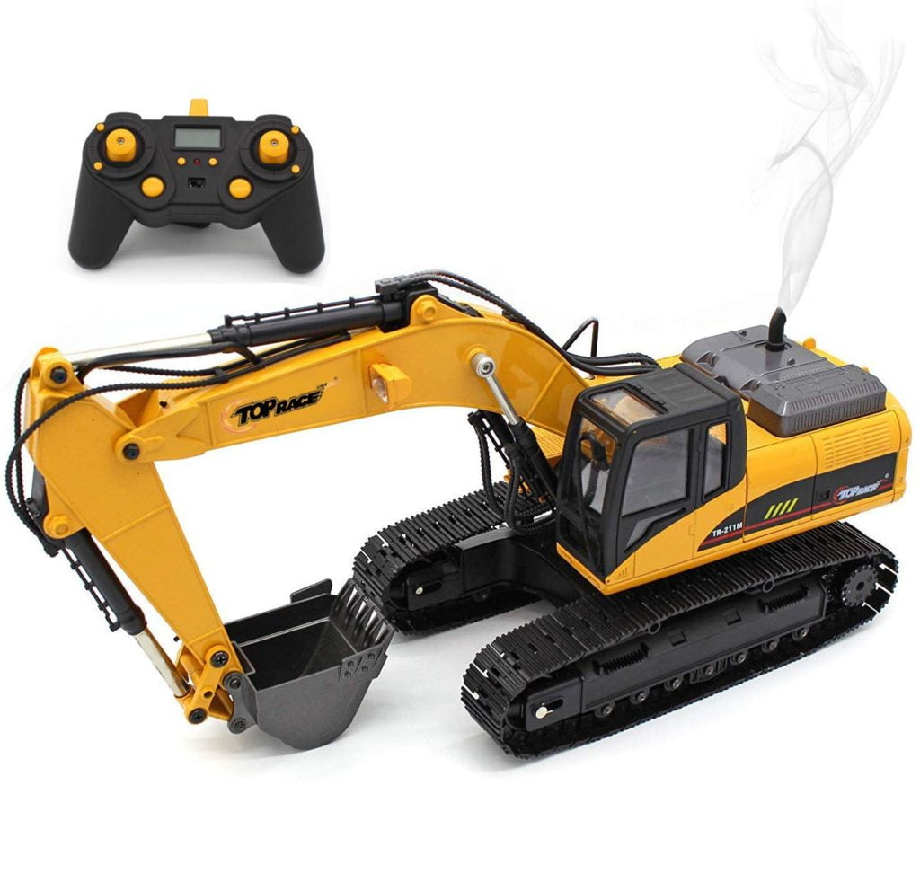 full metal rc excavator