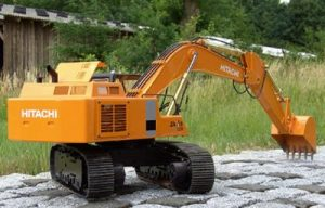Metal RC Excavator Kit - Vario Hitachi Zaxis Excavator 470 Kit