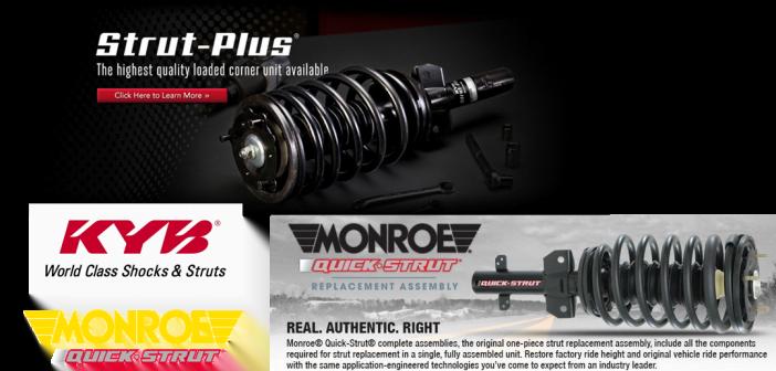 KYB Strut Plus Review (Monroe comparison)