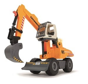 Dickie Toys Light And Sound Construction Digger