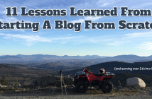 Lessons Learned Making An Extra $1k/mo Blogging