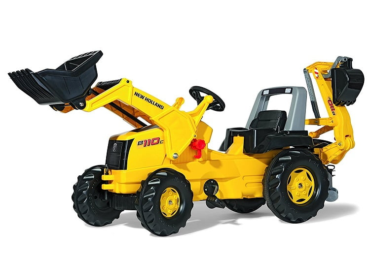 new-holland-ride-on-backhoe-digger