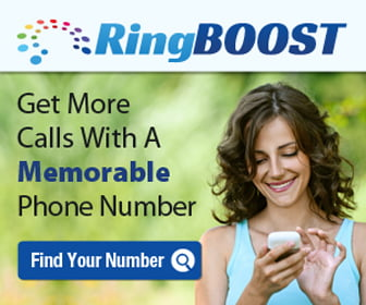 RingBoost Memorable Business Vanity Phone Number Search