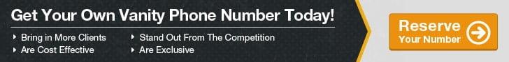 Get A Vanity Number