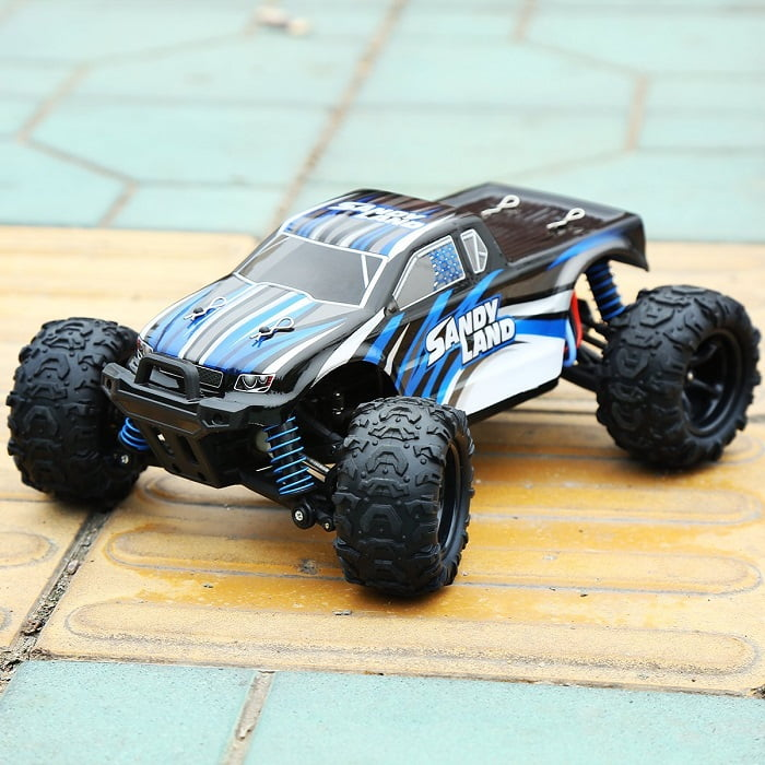 Distianert 9300 Electric RC Car Offroad Remote Control Car 1:18 Scale 2.4Ghz 4WD High Speed 30MPH with An Extra 7.4V 1200MAH Rechargeable Battery