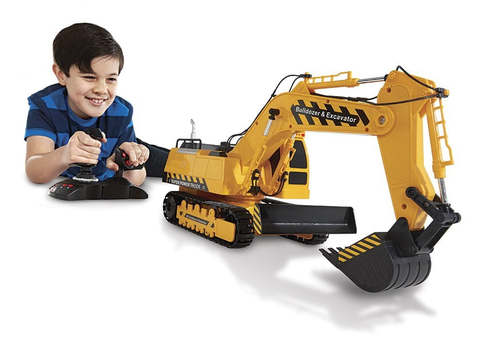 Large Construction Toys For Boys : Top best excavator toys of  diecast remote