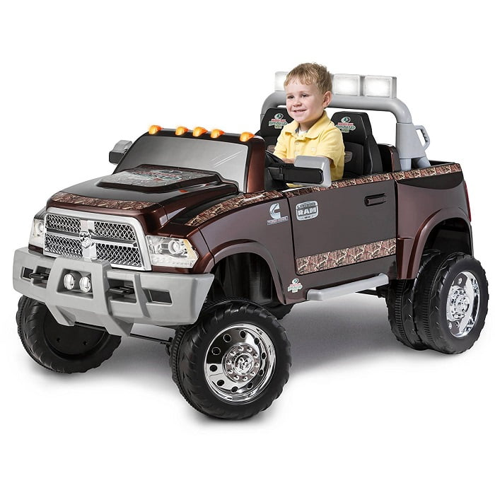 dodge ram 3500 dually longhorn edition 12 volt battery powered ride on