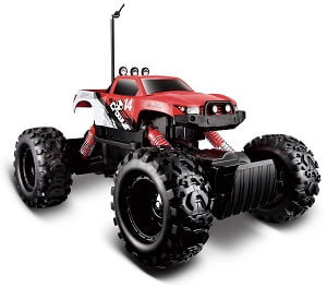 Red Maisto R/C Rock Crawler Radio Control Vehicle