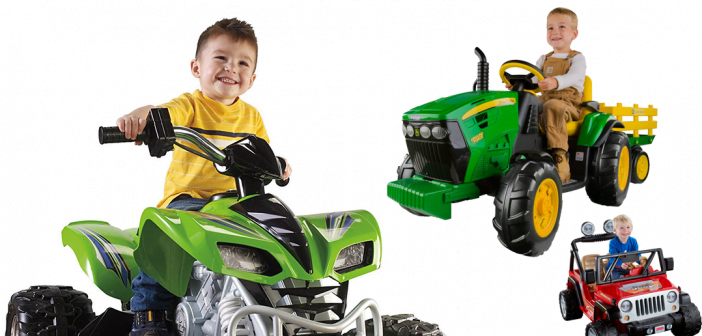Kids Riding On The The Top 3 Most Popular Ride On Toys This Year!