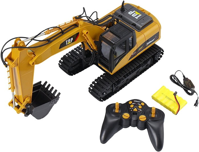 rc bulldozer for adults with Top 20 Coolest Excavator Toys on How To Draw A Sport Bike  2006 Suzuki Katana 600 furthermore Coloring Cars together with Wedico Cat 345 D Lme Hydraulic Excavator additionally Bruder rc in addition Rc Excavator.