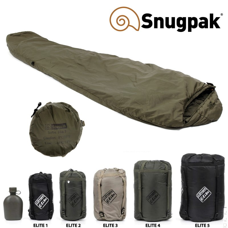 Snugpak Softie Elite Sleeping Bag Series For Cold Winter Camping