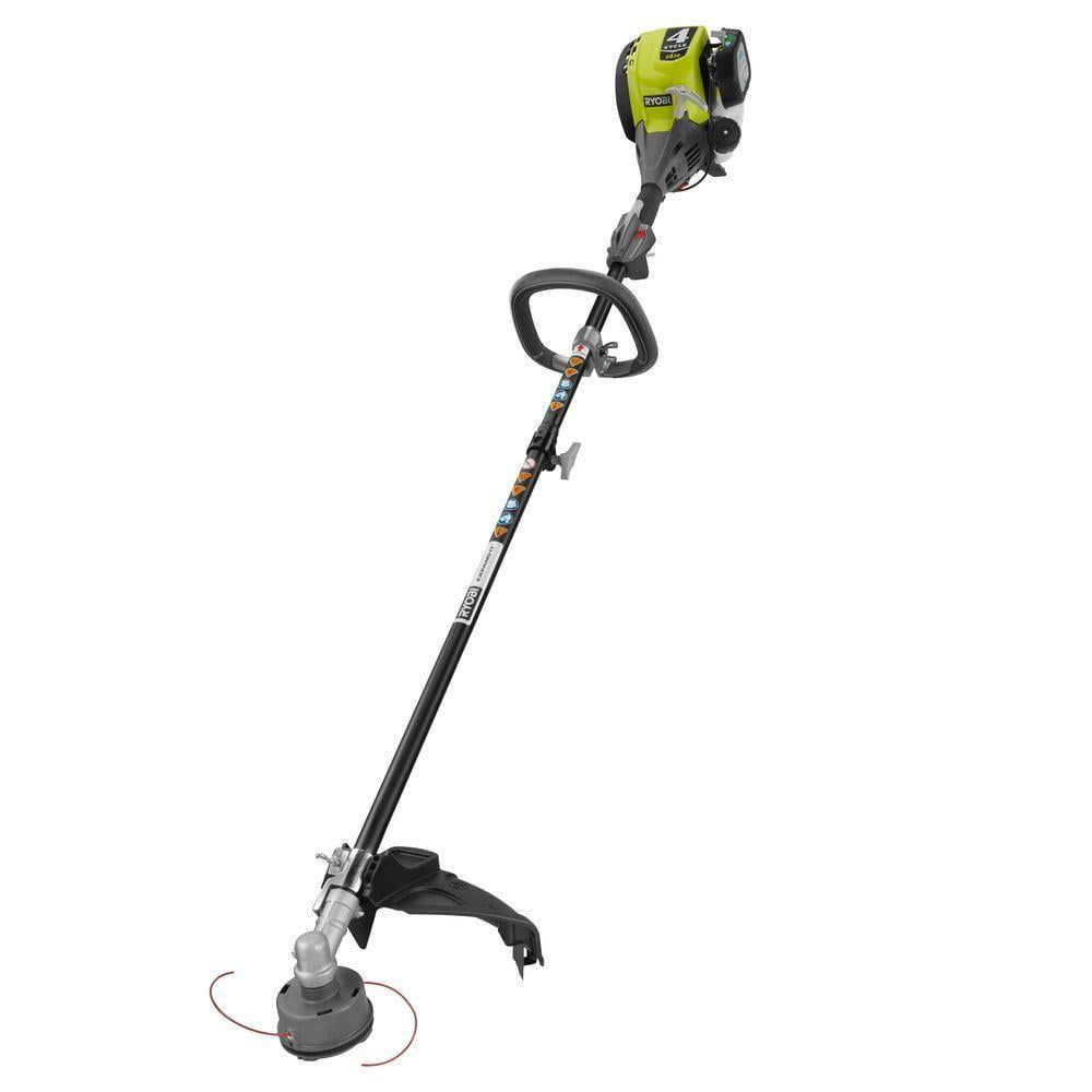 Ryobi Reconditioned 4-Cycle 30cc Attachment Capable Straight Shaft Gas Trimmer