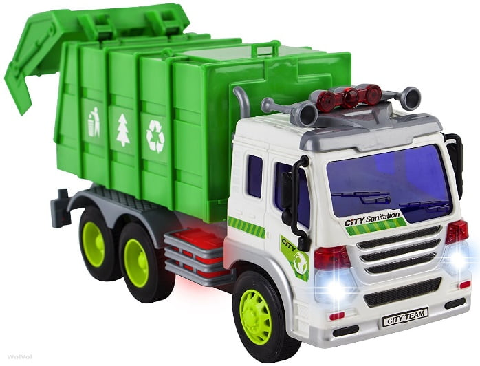 the top 15 coolest garbage truck toys for sale in 2017 and which is the best trash truck hauler. Black Bedroom Furniture Sets. Home Design Ideas