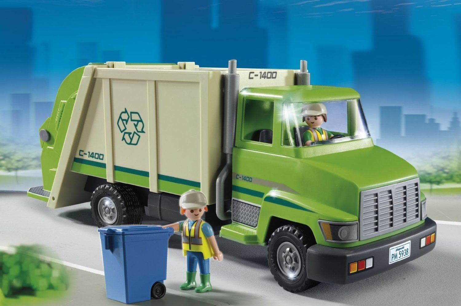 Get ready garbage truck coloring book - This Isn T Technically A Toy Garbage Truck But Kids Love This Toy Recycling Truck Just As Much As Garbage Trucks So We Have Included It On Our List
