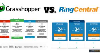 Grasshopper VS RingCentral VOIP Phone Service Comparison