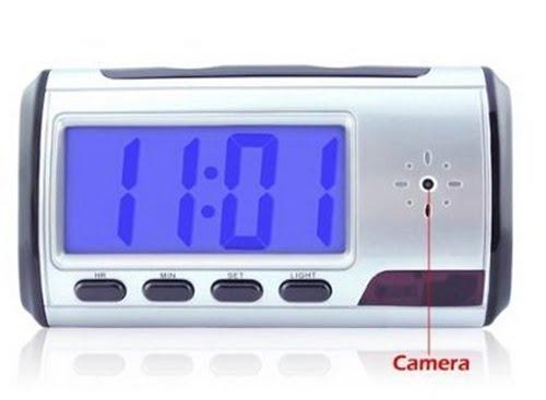 Alarm Clock Hidden Camera - Nanny Cam - Spy Cam For Your House