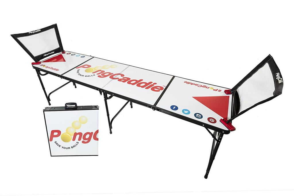 PongCaddie - The Best Beer Pong Table Ever Created!
