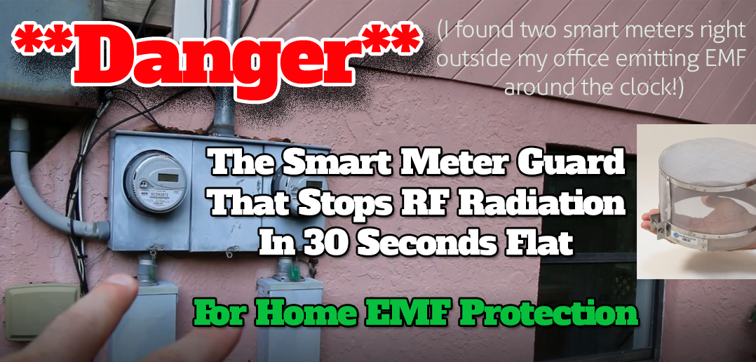 The 2 Smart Meter Guards That Block RF Radiation For EMF Protection