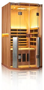 Clearlight Sanctuary Infrared Sauna - With Near Infrared Emitters Added