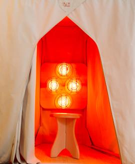 Saunaspace Near Infrared Sauna Kit - Portable - Affordable - Low EMF