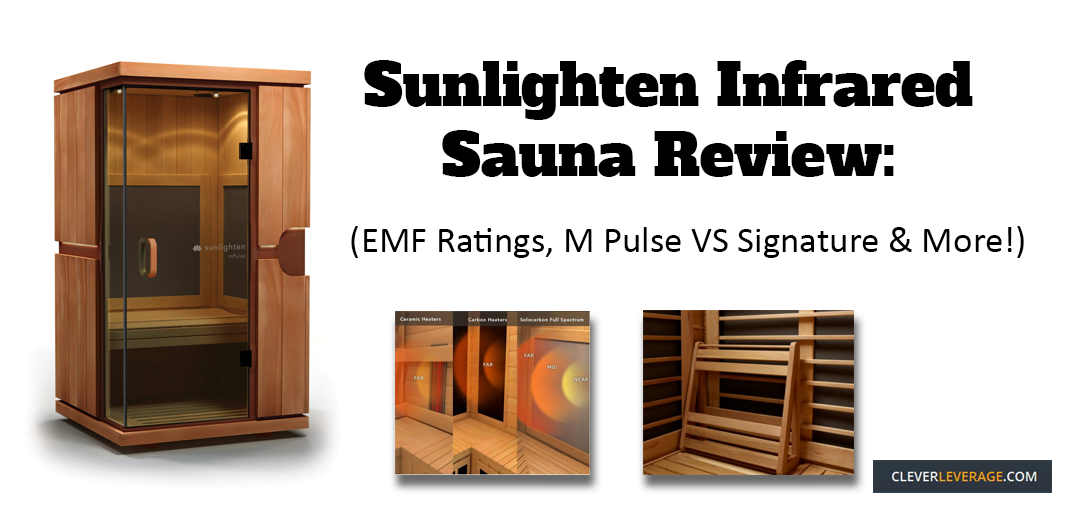 Sunlighten Infrared Sauna Review Emf Levels M Pulse Vs Signature