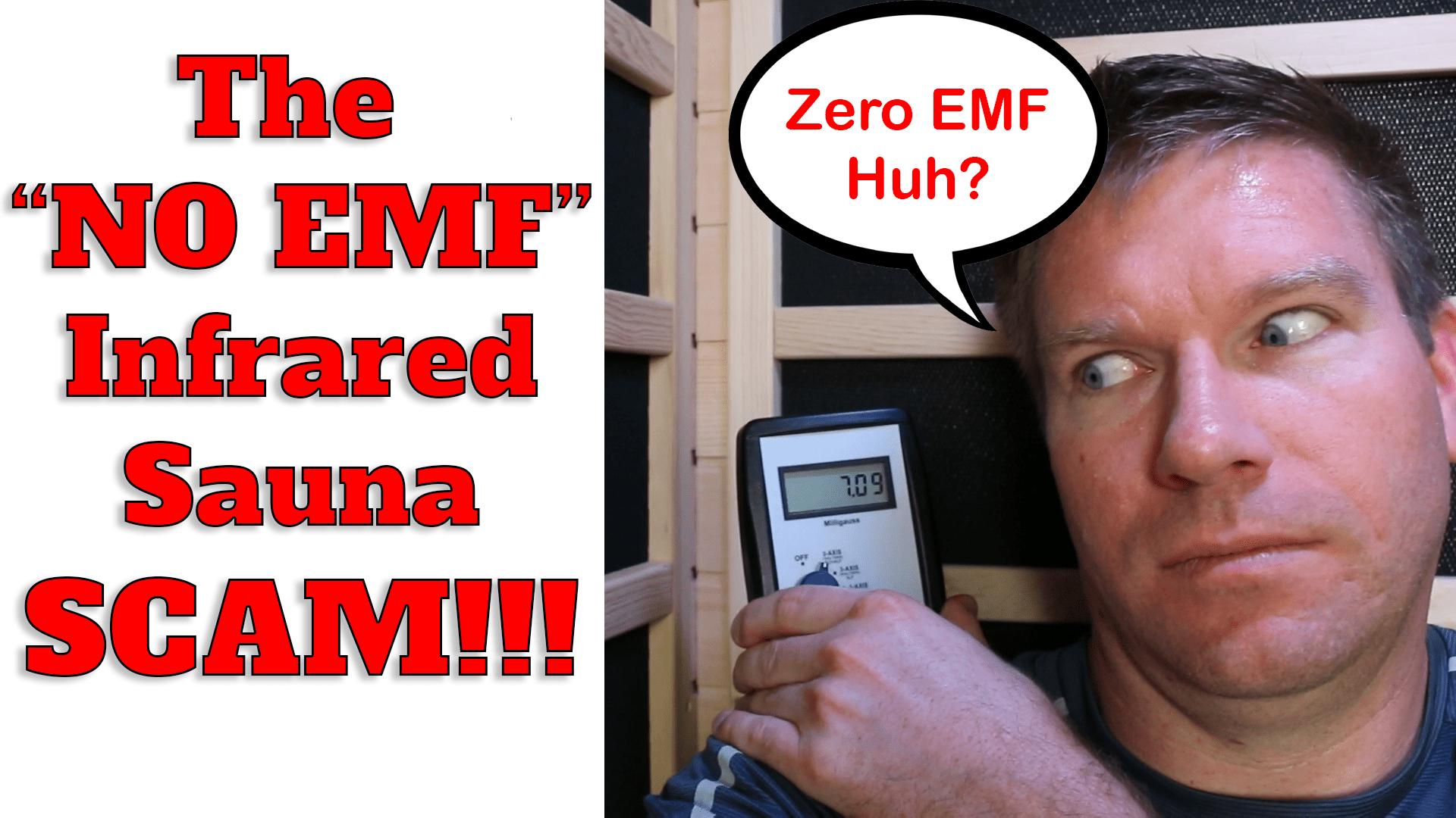 The Quot No Emf Quot Sauna Scam Infrared Sauna Companies Zero Emf