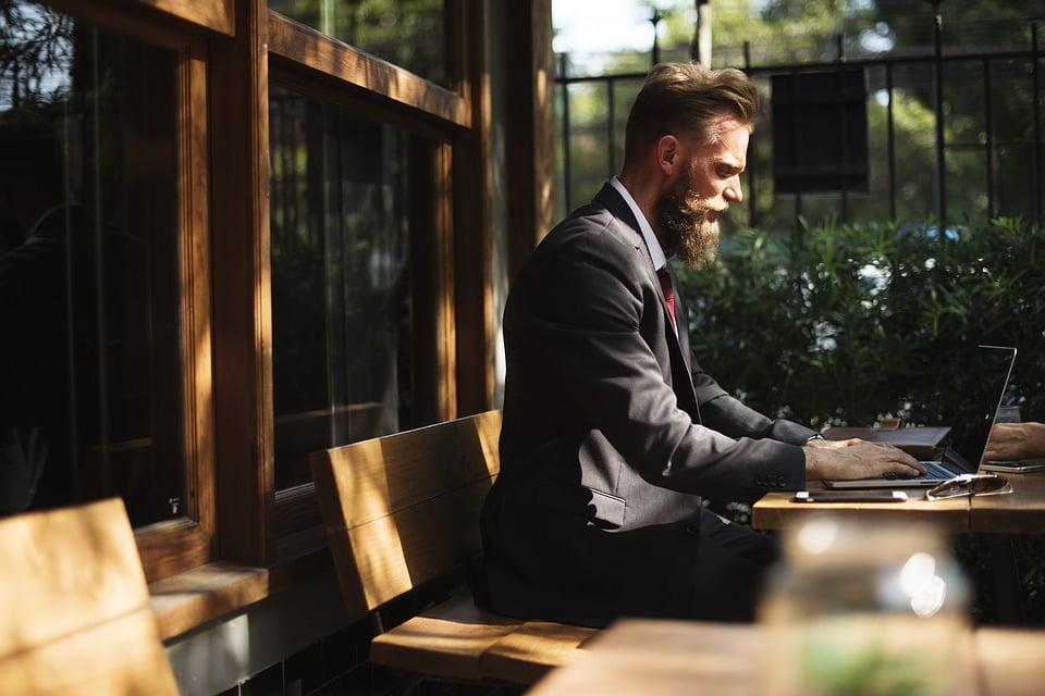 Beard, Break, Business, Business People, Cafe
