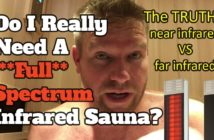 near infrared vs far infrared sauna comparison with full spectrum emitters included