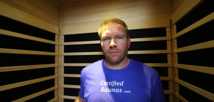 radiant lowest emf infrared sauna model